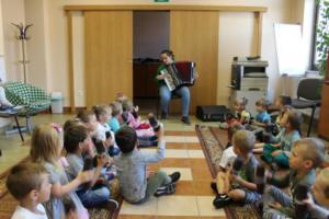 BPMiG Radkow zajecia muzyczne przeszkolaki Radkow Pingwinki 45