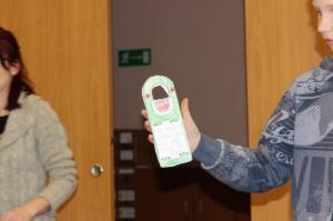 BPMiG Radkow popoludnia w bibliotece zawieszki na drzwi Radkow 12