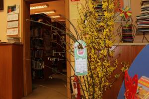 BPMiG Radkow popoludnia w bibliotece zawieszki na drzwi Radkow 16