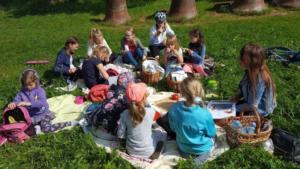 BPMiG Radkow piknik z ksiazka Wambierzyce10