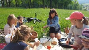 BPMiG Radkow piknik z ksiazka Wambierzyce20
