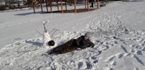 BPMiGRadkowi Zabawy na sniegu Scinawka Dolna00011
