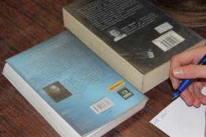 BPMiG Radkow dlonaslascy pisarze lekcja biblioteczna Scinawka Dolna 21