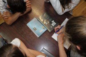 BPMiG Radkow dlonaslascy pisarze lekcja biblioteczna Scinawka Dolna 22