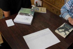 BPMiG Radkow dlonaslascy pisarze lekcja biblioteczna Scinawka Dolna 26
