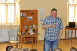 BPMiG Radkow Marcin Palasz spotkanie autorskie Sc Dolna 26