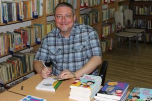 BPMiG Radkow Marcin Palasz spotkanie autorskie Sc Dolna 34