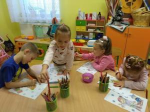 BPMiG w Radkowie przedszkolaki Tlumaczow 9 styczen11