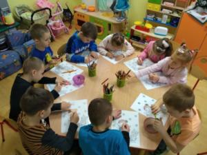 BPMiG w Radkowie przedszkolaki Tlumaczow 9 styczen3