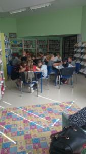 BPMiG Radkow dlonaslascy pisarze lekcja biblioteczna Kraina Wyobrazni 09