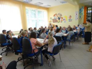 BPMiG Radkow  Tydzien Bibliotek Warsztaty Urbanska Sc Srednia 05