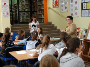 BPMiG Radkow  Tydzien Bibliotek Warsztaty Urbanska Sc Srednia 14