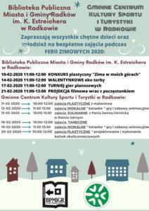 BPMiG Radkow ferie w Radkowie2020